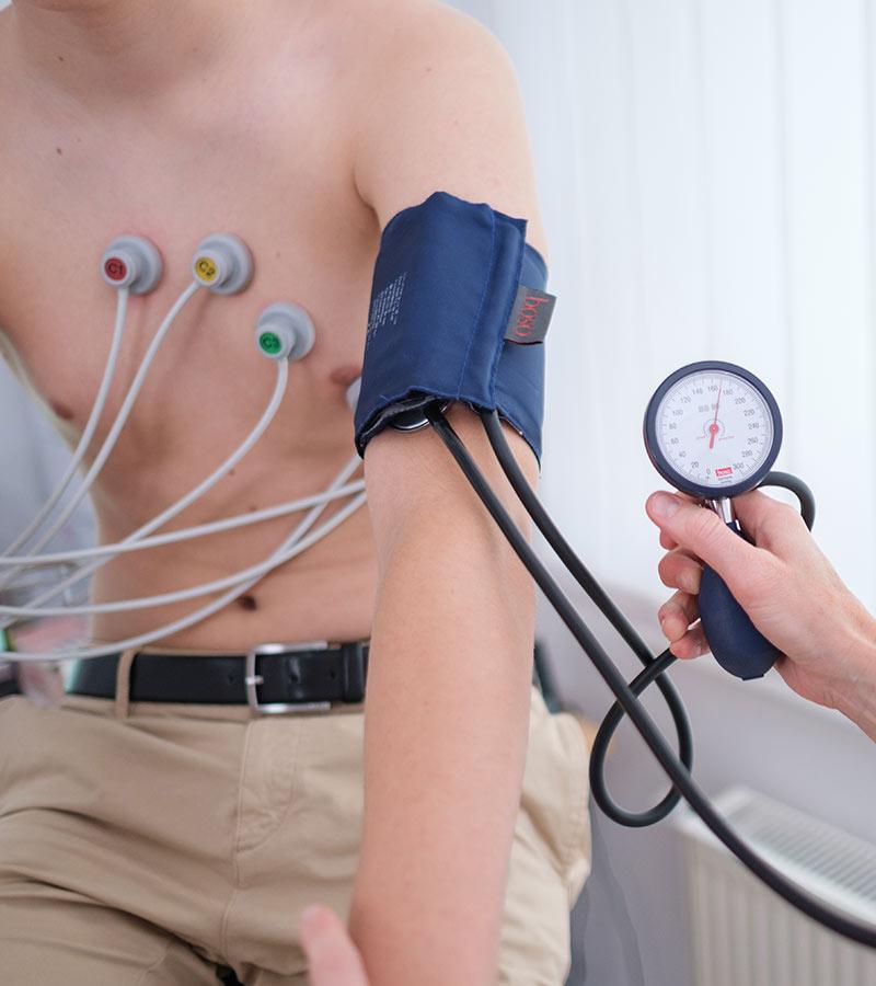 Blutdruckmessung in Hannover