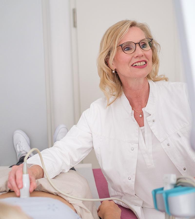 Frau Dr. Berndt - Ultraschall in Hannover